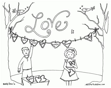 coloring pages on love from god god is love coloring pages free coloring home