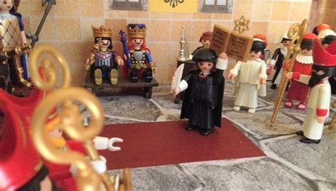 libro protestants the radicals who playmobil figures to explain the reformation