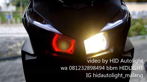 Lu Led Projector Vario 125 by Hid Autolight Honda Vario 125 Esp Single Projector Hid