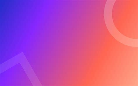 wallpaper gradient colorful square circle hd