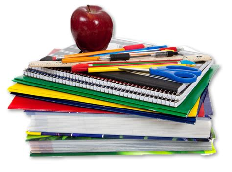 picture of school books preparing for a new school year home educators