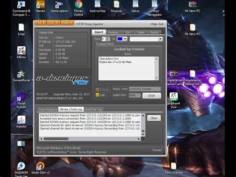 internet gratis pc http injector arquivo da vivo sem limite atualizado  youtube