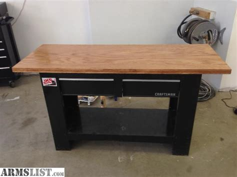 reloading bench top armslist for sale reloading bench 1 5 quot solid oak top