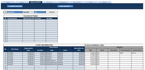 free sales pipeline template sales task list and pipeline manager