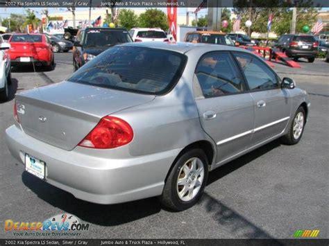 Kia Ls 2002 Kia Spectra Ls Sedan Silver Gray Photo 11