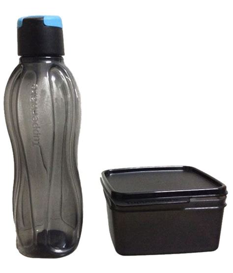 Tupperware Xtreme Lunch Set Box Bottle tupperware water bottle 750 ml with lunch box buy