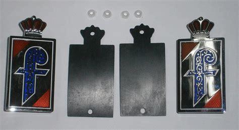pininfarina side emblem kit sku 81 4329 kit 81 4329