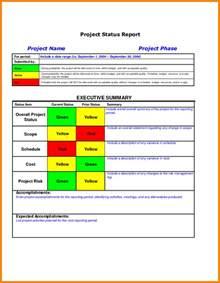 project management reporting templates 7 project management status report template