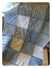 baby boy rag quilt diy quilting in the