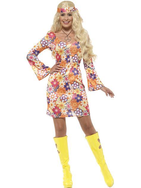 Thermolyte Plus 60s Original flower hippie costume 45520 fancy dress