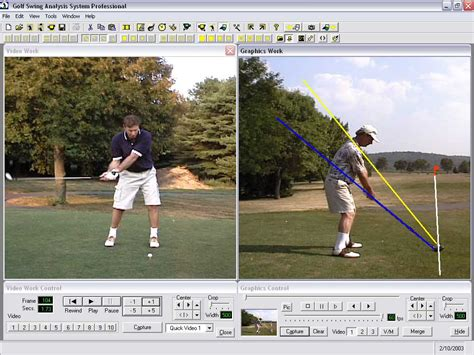 golf swing breakdown golf swing analysis system professional software informer