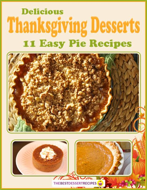 11 easy as pie recipes for thanksgiving recipechatter