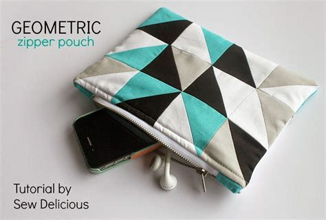pattern for simple pouch 20 easy zipper pouches to sew sew delicious