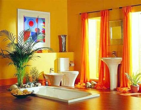 yellow walls and orange curtains curtain menzilperde net