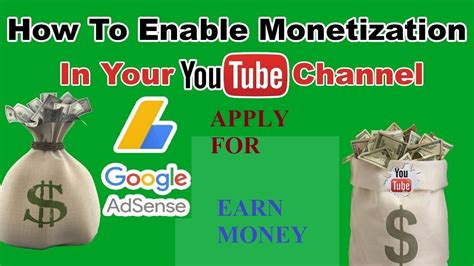 adsense youtube rules how to enable monetization free apply for google adsense
