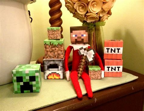 minecraft printable for elf on the shelf elf on the shelf minecraft elf on the shelf