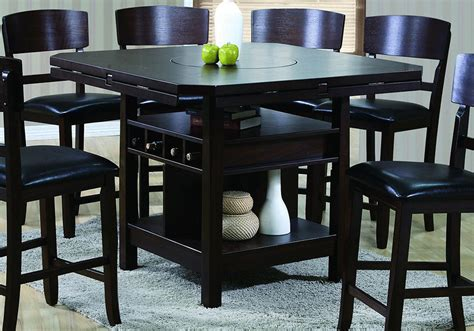 calgary counter height table and 4 chairs