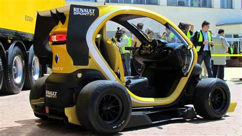 renault twizy f1 renault twizy rs f1 concept 2015 model youtube