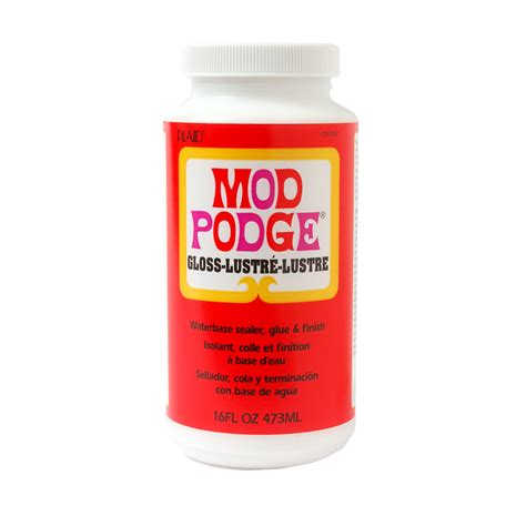 Using Pva Glue For Decoupage - mod podge glossy hobbyworld direct
