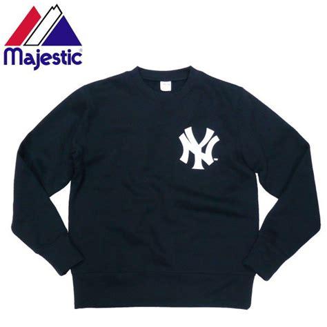 Sale Blazer Import 21723 White Blue Fashion L yankees crewneck sweatshirt fashion ql