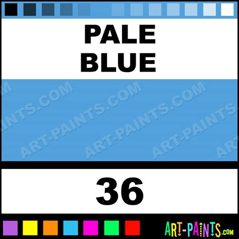 pale blue academy pastel paints 36 pale blue paint pale blue color holbein academy paint