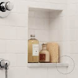 shower niche on pinterest shower shelves shower tiles
