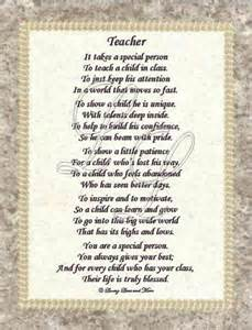 Thank You Letter To Special Needs Poem Yahoo Search Results Teaching End Of Year Poems Poem