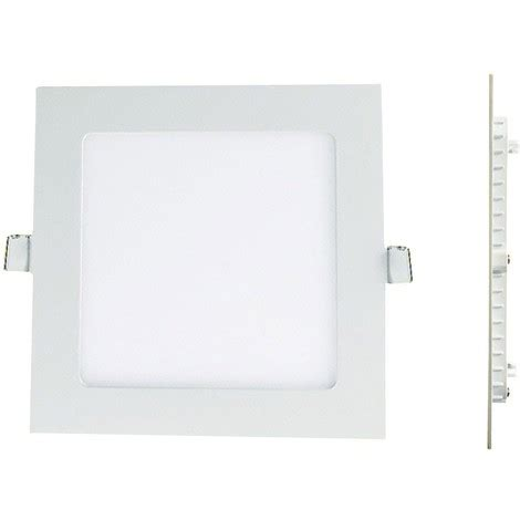 Lu Downlight Panel spot encastrable led carre downlight panel plat 25w