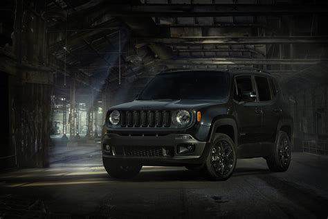 jeep renegade black jeep renegade dawn of justice special edition announced