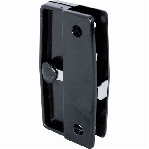 prime line academy mortise style sliding screen door latch and pull a 139 the home depot