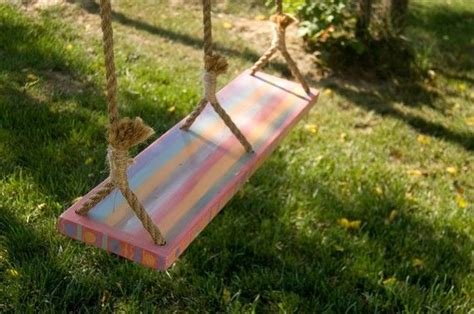 double tree swing double hand painted tree swing by metamorphosis08 on etsy