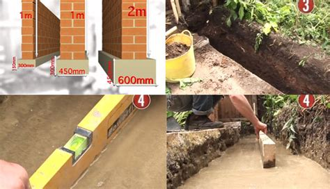 how to lay a foundation for a house how to lay foundations a successful wall foundation constructupdate com