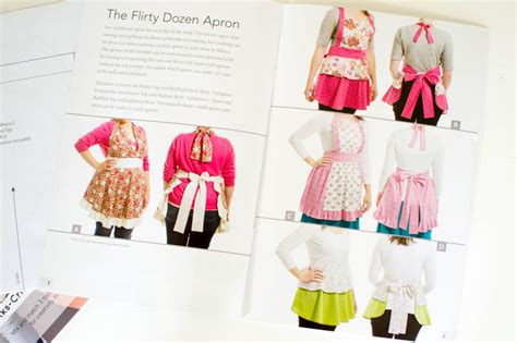 Competition Win A Copy Of In Aprons By Alex Mattis by My Flirty Dozen Apron Pattern Is Here Win 1 Of 3 Copies