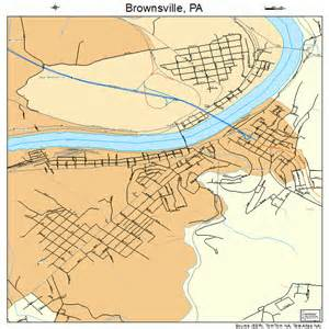 maps brownsville brownsville pennsylvania map 4209432