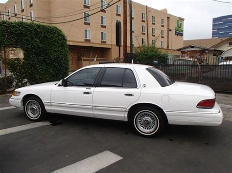 automobile air conditioning service 1994 mercury grand marquis on board diagnostic system buy used 1994 mercury grand marquis in los angeles california united states for us 5 500 00