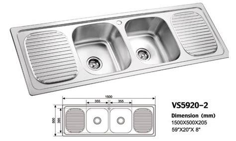 Bowl Kitchen Sink Sizes Bowl Kitchen Sink Mamtus Nigeria