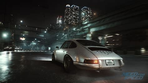 Need For Speed, Video Games, Porsche, Car, Night, City