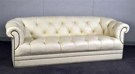 cream tufted sofa cream leather tufted sofa