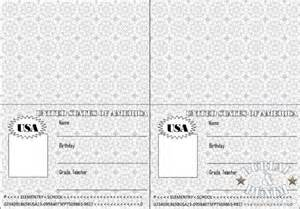 passport photo print template free coloring pages of passport template