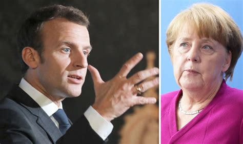 latest uk and world news sport and comment daily express emmanuel macron and angela merkel to blame as eu