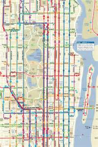 Pin nyc transportation maps from mta subway map bus maps train map on
