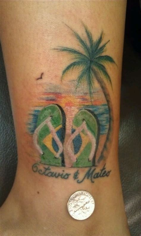 flip flop tattoos designs 25 best ideas about flip flop on