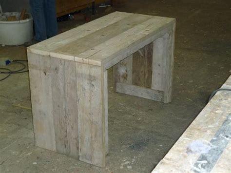 steigerhouten tafel 4 meter steigerhout