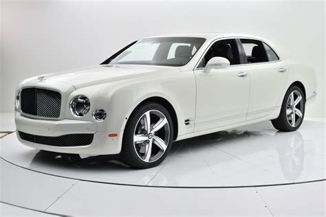 white bentley 2016 2016 bentley mulsanne speed