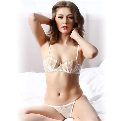 funny girls dunja katja young girls models japanese 2018 sexy slim lace bra set women s underwear 1 2 cup