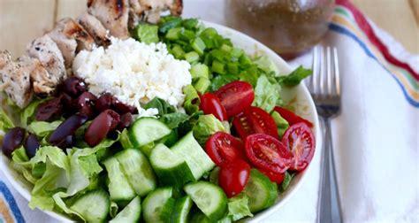 lamb kebabs and greek salad greek salad with chicken kebabs