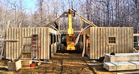Pre Built Trusses For Sheds by Modular Barns Prefab Barns Horizon Structures