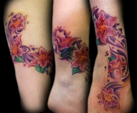 tattoo removal exles flower tattoos ankle