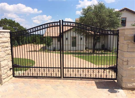 Automatic Gates For Driveways Swing Slide Keypad