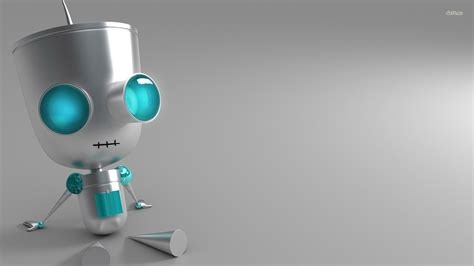 wallpaper robot cartoon awesome hd robot wallpapers backgrounds for free download